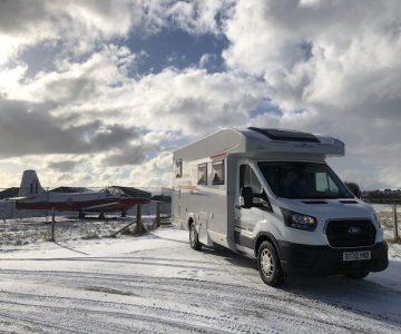 Motorhome & Campervan Rental Kinross Scotland