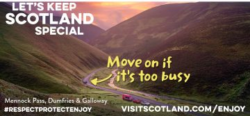 Lets keep scotland special campervan rental scotland