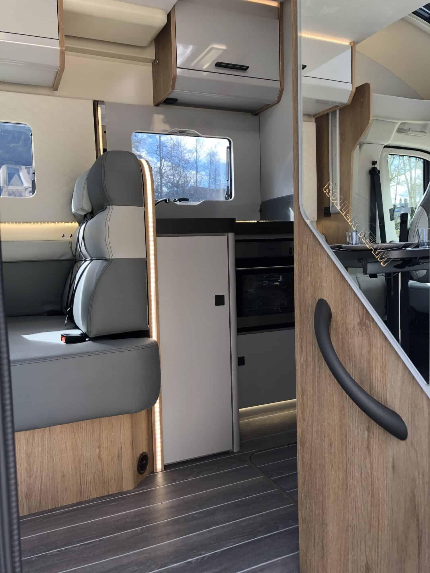 Campervan-hire-Pegasus-interior