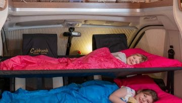 Cabbunk Extra beds for campervan hire