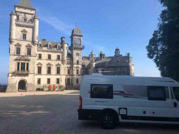 Scotlands-castle-dunrobin-by-motorhome-rental